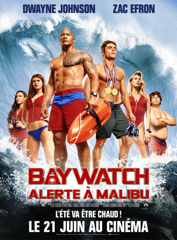 image seth gordon alerte à malibu poster baywatch