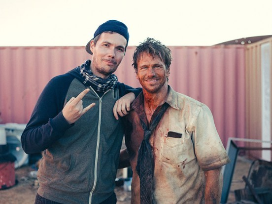 image tournage sam was here christophe deroo rusty joiner