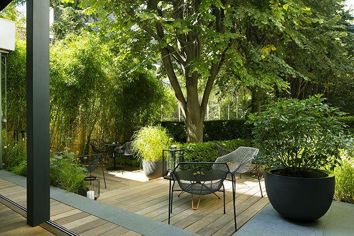 image terrasse cachée clos belle juliette hôtel et spa la belle juliette paris saint-germain des prés