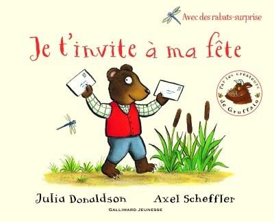 [Critique] Je t'invite à ma fête – Julia Donaldson, Axel Scheffler