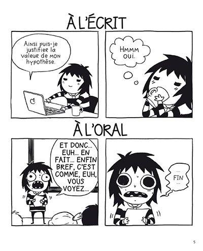 image strip oral les adultes n'existent pas sarah andersen éditions delcourt