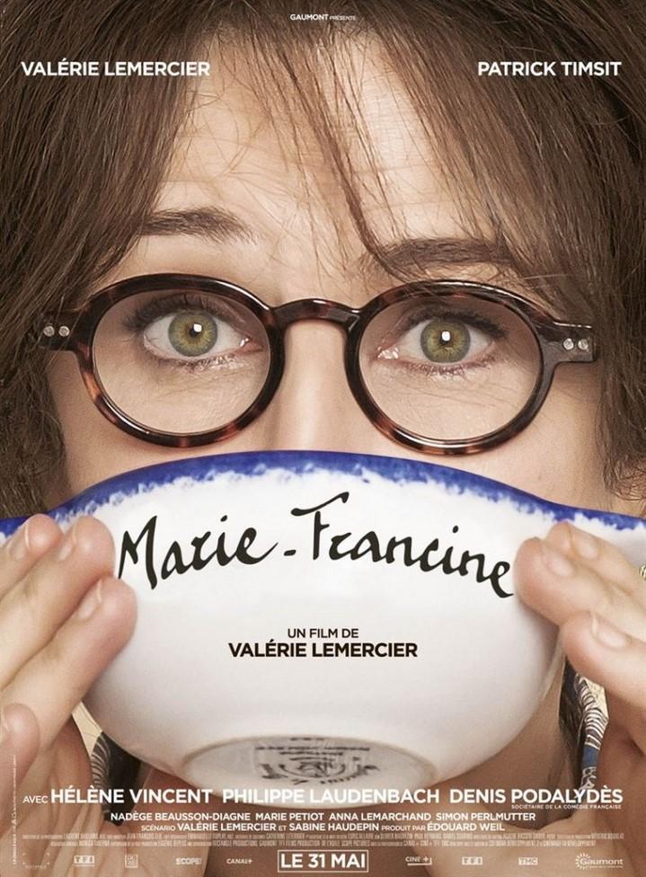 image valerie lemercier poster marie francine