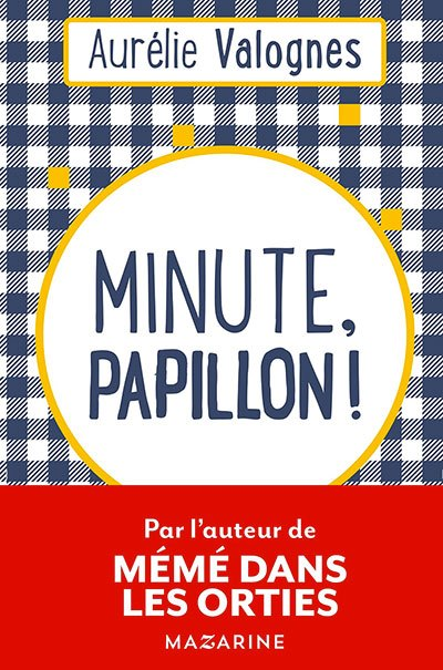 image couverture minute papillon aurélie valognes éditions mazarine