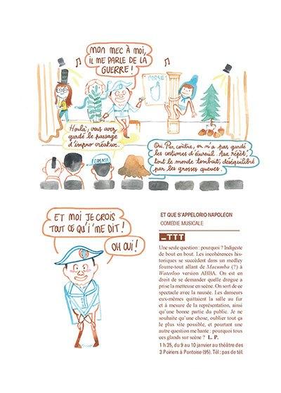 image planche napoléon patricia kaas mon opéra rock leslie plée éditions delcourt collection Tapas