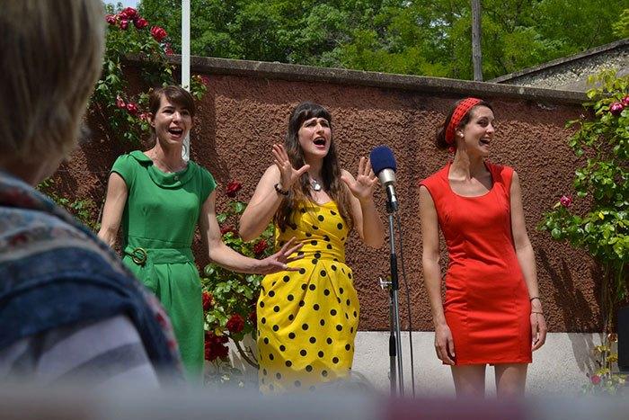 image jazz à cours trio cosmos live laurine arcel emilie souillot céline koenig