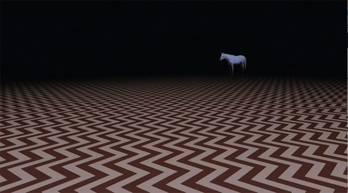 image cheval black lodge twin peaks saison 3 épisode 2