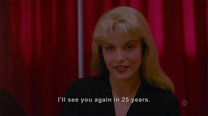 image laura palmer sheryl lee twin peaks saison 3 flash-back black lodge 25 ans