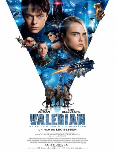 [News – Cinéma] Nouvelle bande-annonce de «Valérian et la Cité des mille Planètes» de Luc Besson, sortie le 26 juillet