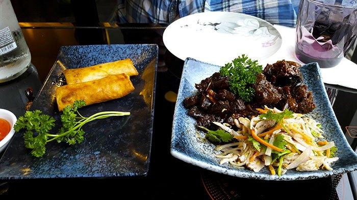 image nems bloc de tofu noir restaurant chinois 0 d'attente paris