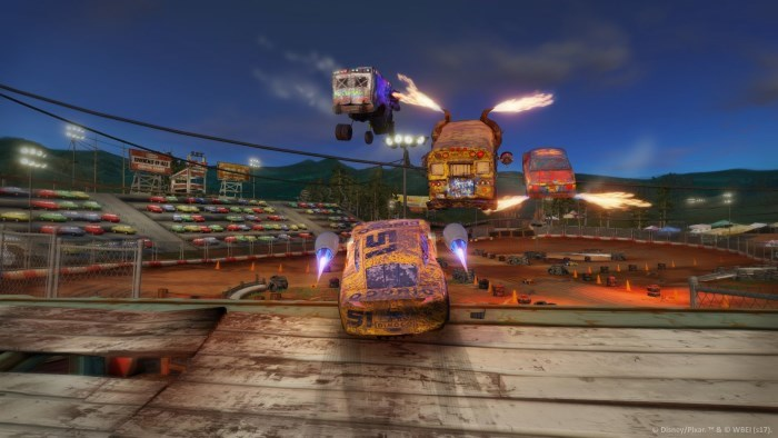 image flash mcqueen cars 3 course vers la victoire