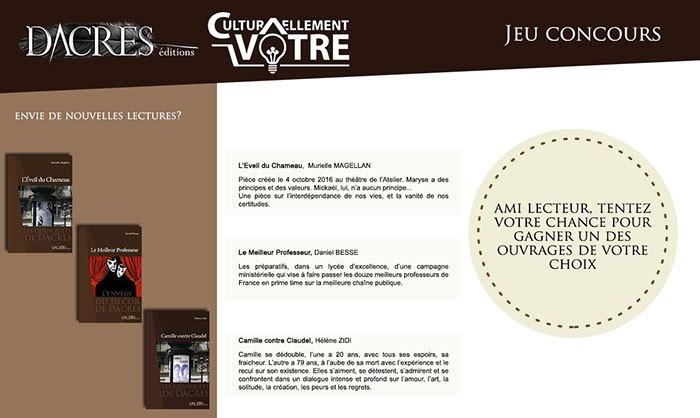 image concours éditions dacres livres théâtre