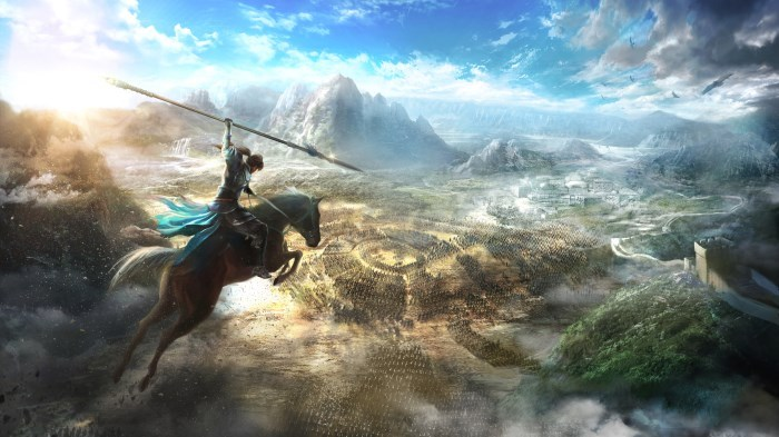 image artwork dynasty warriors 9