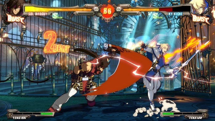 image gameplay guilty gear xrd revolution 2
