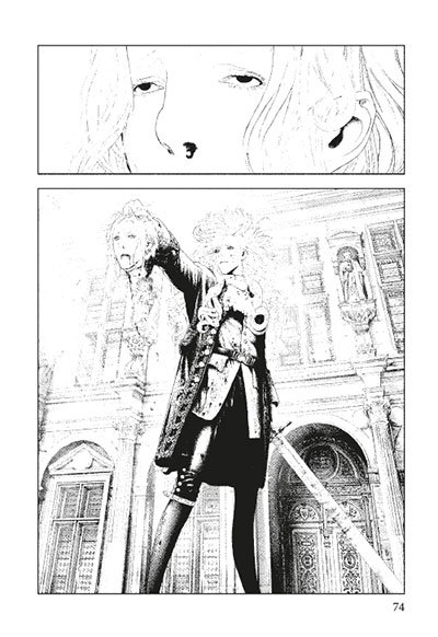 image planche 74 innocent rouge volume 1 éditions delcourt tonkam