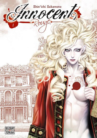 image couverture innocent rouge volume 1 shin'ichi sakamoto éditions delcourt tonkam
