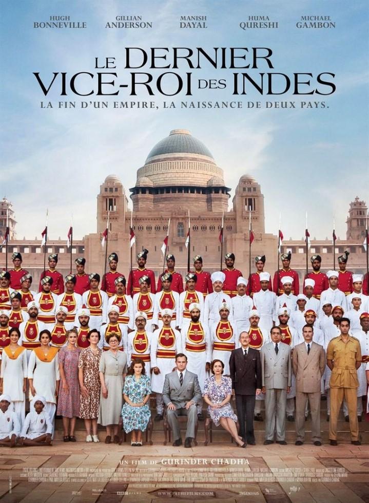image gurinder chadha poster le dernier vice-roi des indes