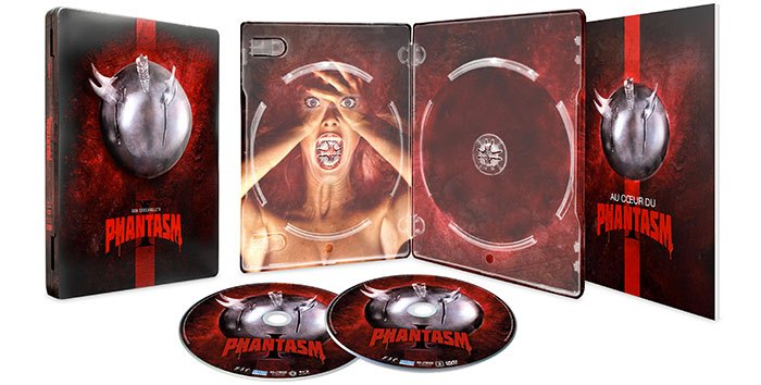 image boîtier ouvert combo blu-ray dvd phantasm don coscarelli esc distribution