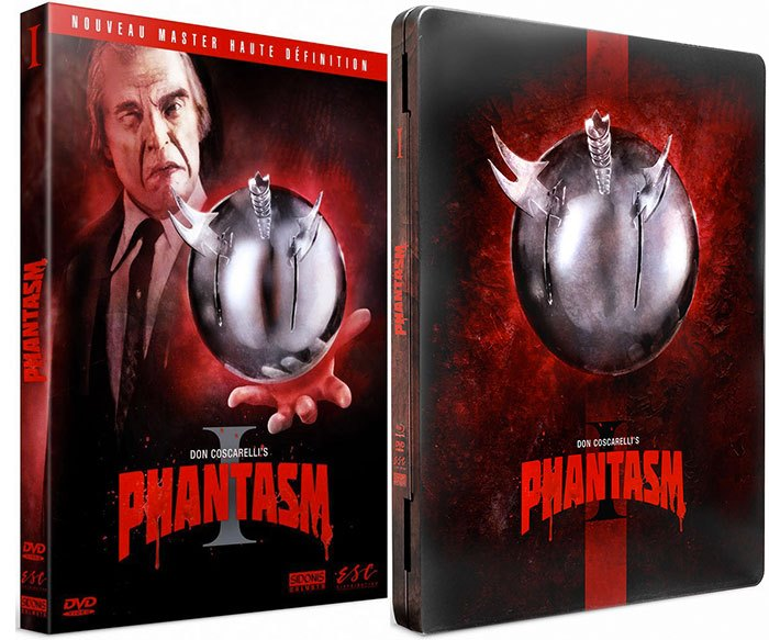 image boîtiers dvd combo blu-ray phantasm don coscarelli esc distribution