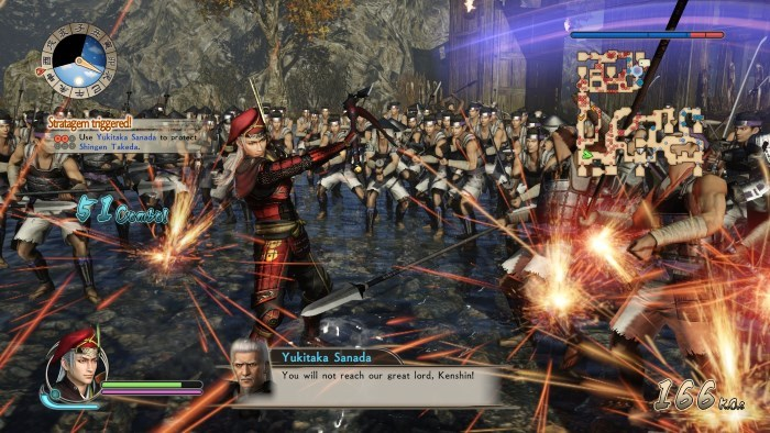 image omega force samurai warriors spirit sanada