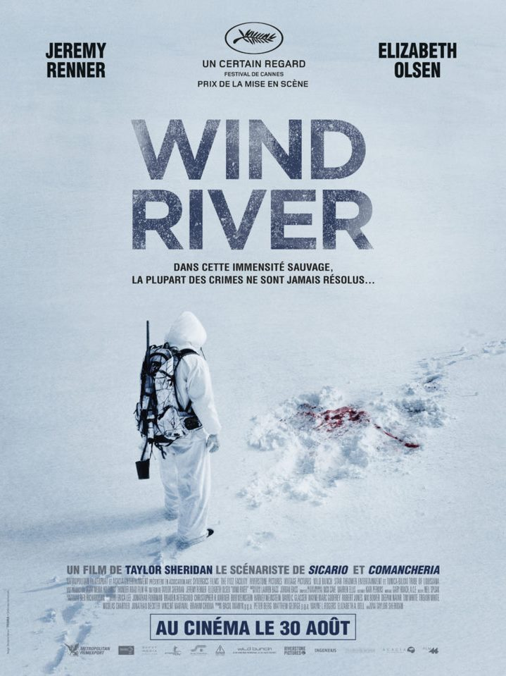 image taylor sheridan poster wind river