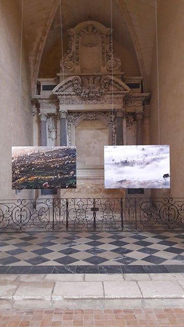 image expo photo matthieu ricard abbaye royale de l'épau