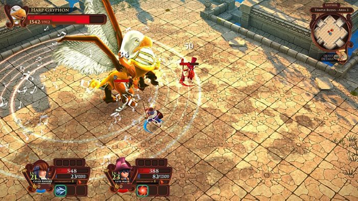 image gameplay aerea