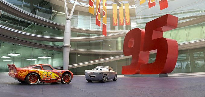 image centre d'entraînement flash mcqueen cars 3 disney pixar