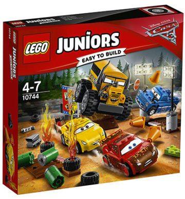 image boîte lego juniors cars 3 le super 8 de thunder hollow
