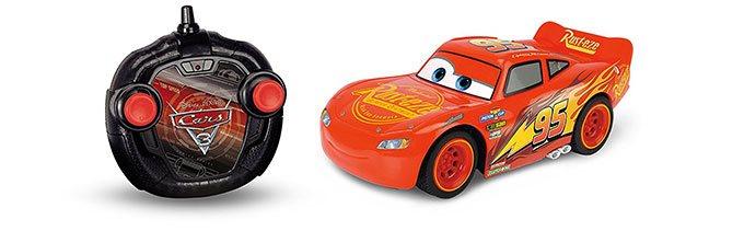 image voiture turbo racer lightning mcqueen disney cars 3 télécommande majorette