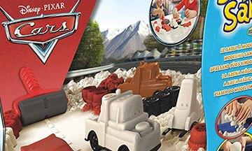 image gros plan boîte super sand disney pixar cars