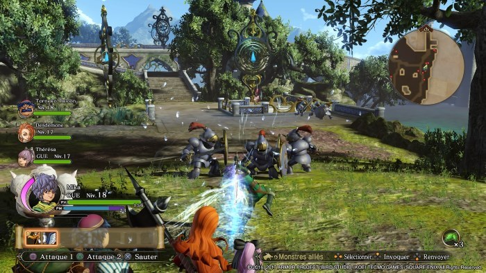 image playstation 4 dragon quest heroes 2