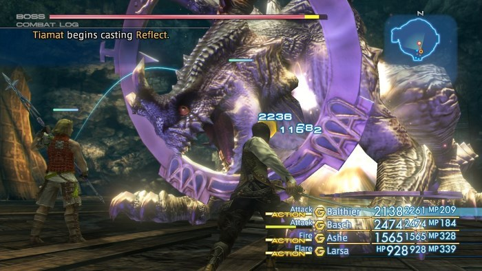image gameplay final fantasy 12 zodiac age
