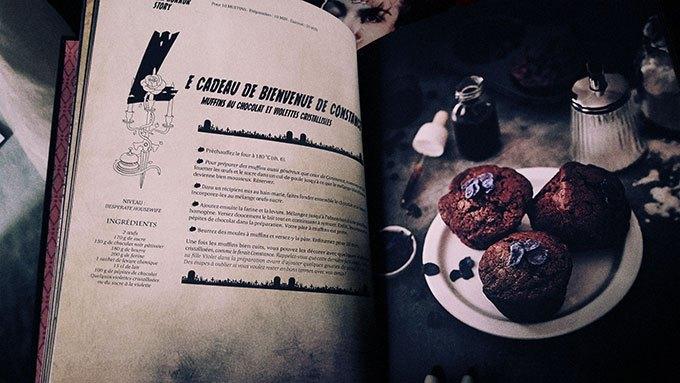 image muffins de constance american horror story gastronogeek spécial séries cultes hachette heroes