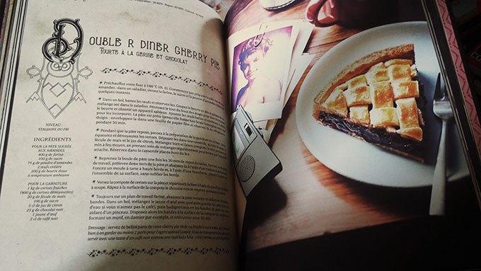 image tarte aux cerises cherry pie twin peaks gastronogeek spécial séries cultes hachette heroes
