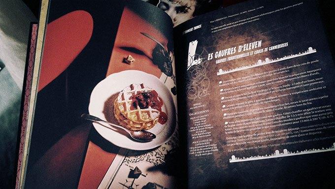 image gaufres d'eleven stranger things gastronogeek spécial séries cultes hachette heroes