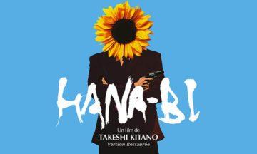 image gros plan affiche ressortie hana-bi takeshi kitano version restaurée