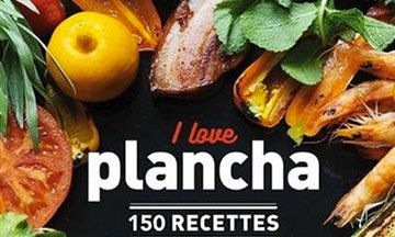 image gros plan livre de cuisine i love plancha dorian nieto solar éditions