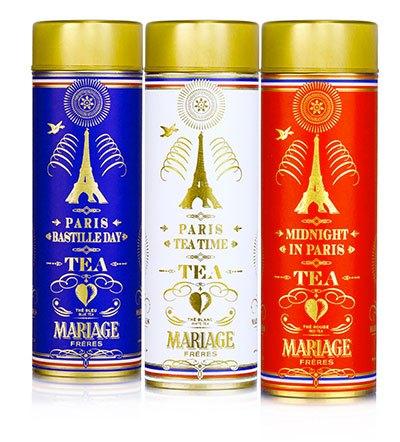 image collection thé parisien paris tea time mariage frères bleu blanc rouge