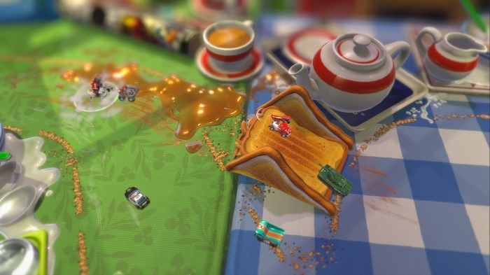 image gameplay micro machines world series
