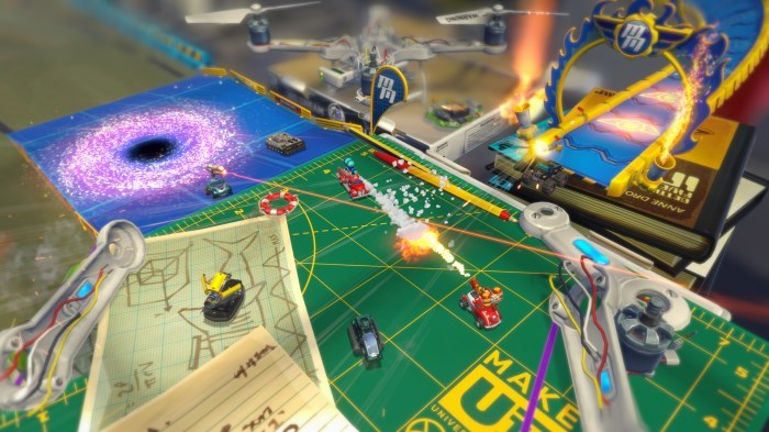 image jeu micro machines world series