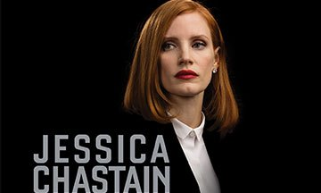 image gros plan blu-ray miss sloane film jessica chastain