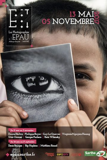 image affiche saison photo sarthe 2017 expo abbaye royale de l'épau le mans