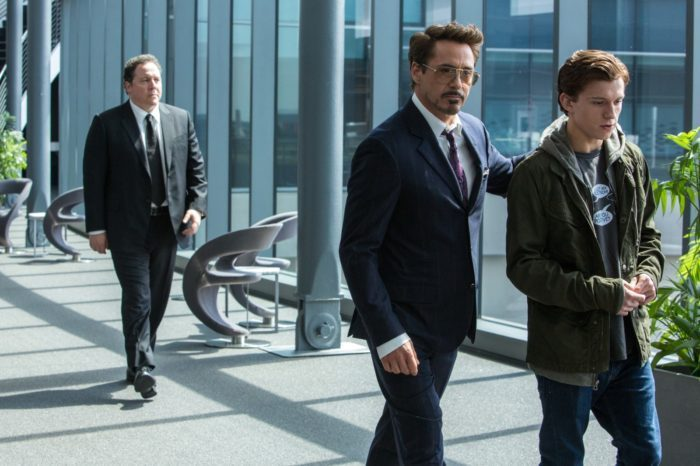 image robert downey jr spider man homecoming