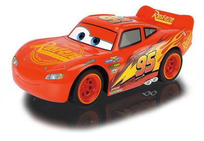image voiture radiocommandée majorette disney cars turbo racer flash mcqueen