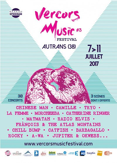 image affiche vercors music festival