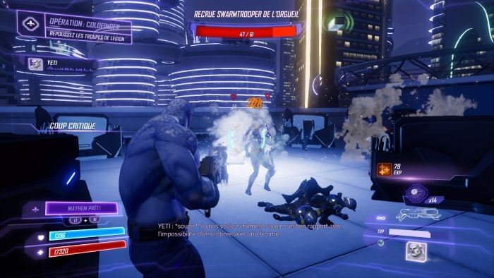 image jeu agents of mayhem