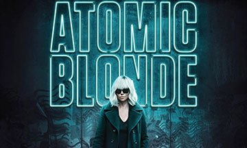 image gros plan affiche atomic blonde charlize theron