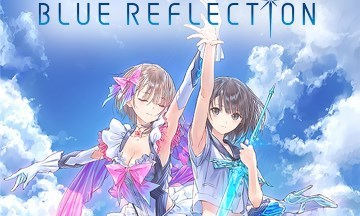 image news blue reflection
