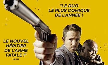 image gros plan affiche hitman and bodyguard