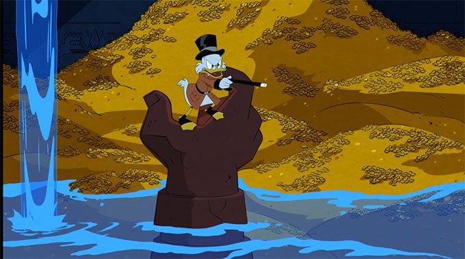 image picsou statue main trésor de l'atlantide épisode 1 reboot la bande à picsou ducktales disney